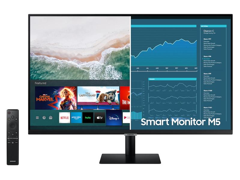 SAMSUNG 32″ SMART MONITOR WITH MOBILE CONNECTIVITY