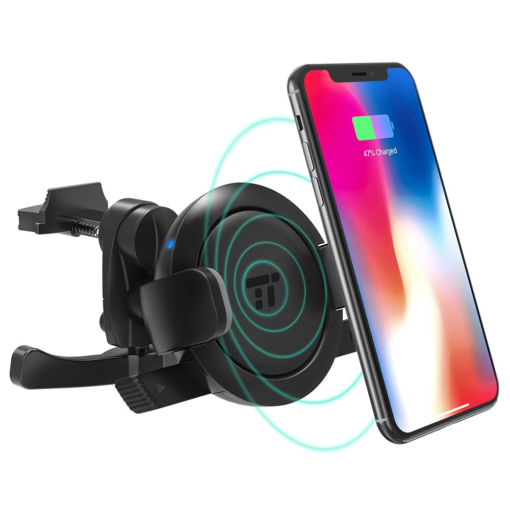 TaoTronics  Wireless Charging Vent Phone Holder for Car