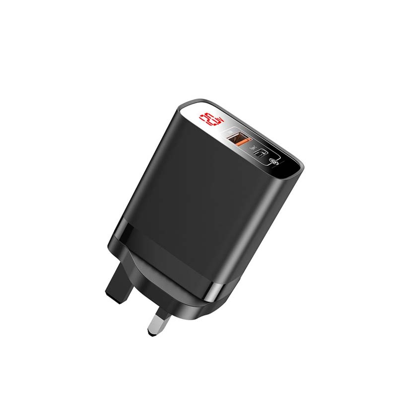 Baseus Mirror Lake PPS Digital Display quick Charger A+C