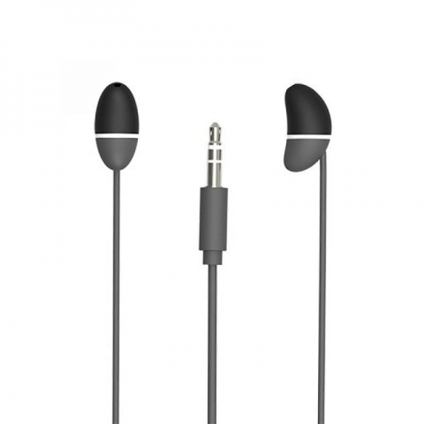 Allocacoc  EarBeans Bass AUX with Mic - Grey