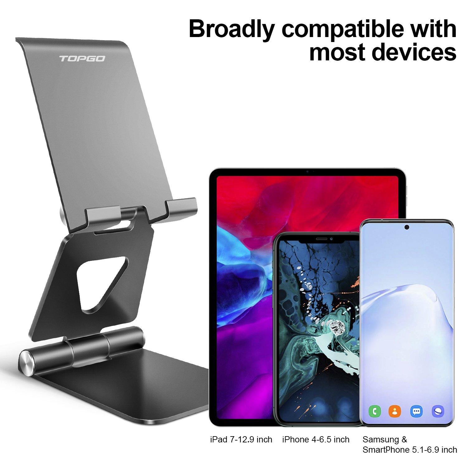 foldable Desk phone stand